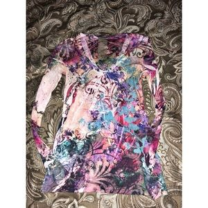 Tops - Gorgeous multi colored top!